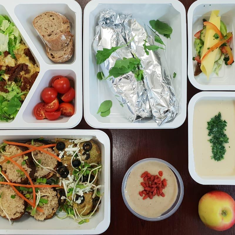 Catering dietetyczny - dieta wegańska.
